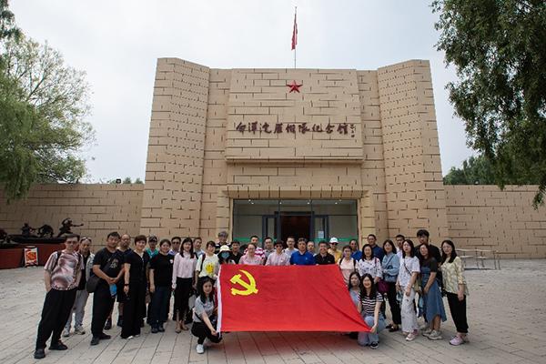 北京真空学会组织党员参观白洋淀雁翎队纪念馆